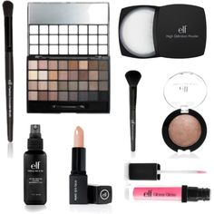 E.L.F. Makeup! Cheap, but works great, just as good as more expensive brands!