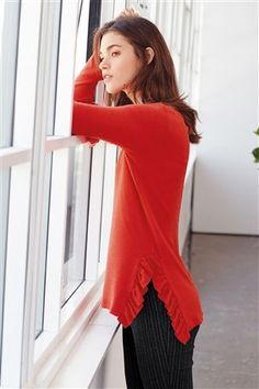2fe4fbfdc65 Buy Blush Embellished Cosy Ruffle Top from the Next UK online shop Next Uk