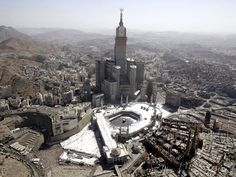 Makkah's Islamic Holy Sites Overshadowed By Skyscrapers | The Eco Muslim