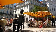 Esplanada Café A Brasileira, Lisboa