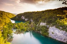 National Nature Park of Plitvice, Croatia by Rowell Photography