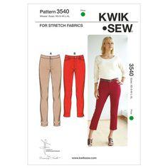 Mccall Pattern K3540 Xs-S-M-L-X-Kwik Sew Pattern