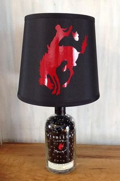 750ml Pendleton Whiskey Lamp by SLWesternCreations on Etsy, $80.00