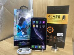 Apple iPhone XR Smartphone Bundle 64GB AT&T Network - You Cell Access Glass Protector, Screen Protector, Glass Film, King Kong, Apple Iphone, New Phones, Charging Cable, Smartphone, Iphones For Sale