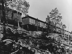 Ounasvaaran Hotel...1968 Jaakko Laapotti... Photo Matti Saanio