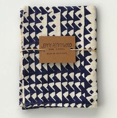 Tea Towel - Indigo // via @Michelle Flynn Simmons Interior