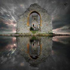 Castelo em ruínas - Escócia