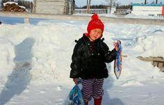 Sibéria - Aos 4 anos, atravessou a floresta gelada e com lobos para salvar avó