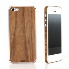 Toast Wooden iPhone 5 Cover - Plain Walnut