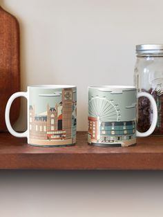 """""""London"""" Mug by sambrewster 