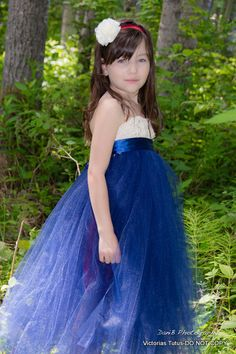 navy flower girl tutu dressempire waist crochet by victoriastutus Flower Girl Tutu, Wedding Ideas, Navy, Trending Outfits, Crochet, Places, Skirts, Vintage, Dresses