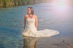 Emily's #Trash The Dress Divorce Style #happily ever after photography