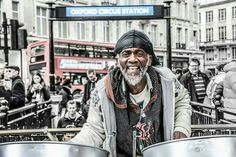 Musician on Oxford st