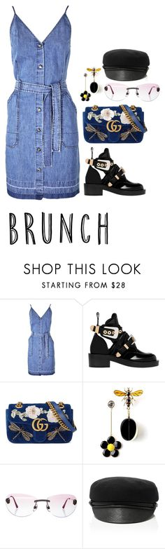 """MAMMA"" by beakpettersen ❤ liked on Polyvore featuring J Brand, Balenciaga, Gucci, Chanel and Eugenia Kim"