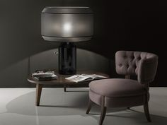 Ceramic table lamp Odette Odile Collection by ITALAMP | design Edward Van Vliet
