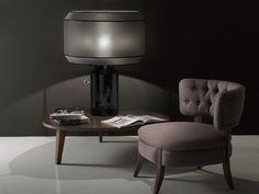 Ceramic table lamp Odette Odile Collection by ITALAMP | design Edward Van Vliet
