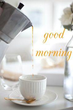 Good morning – classic Italian coffee maker