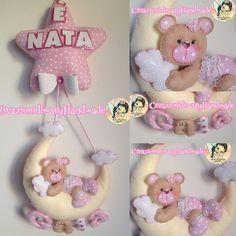 Fiocco nascita Luna  orsetto baby