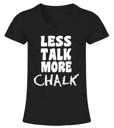 Less Talk More Chalk Gymnastics T-Shirt