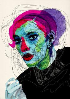 girl 02 by Alvaro Tapia Hidalgo