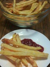 空气炸锅薯条的做法 步骤5