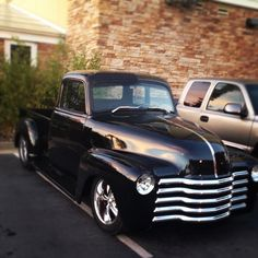 My father's 1953 Chevy truck.