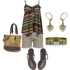 Daytrip Tribal, created by phillc.polyvore.com
