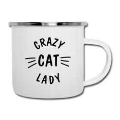 Crazy Cat Lady, Crazy Cats, Mugs, Tableware, Style, Cat T Shirt, Drinking Coffee, Tumblers, Stainless Steel