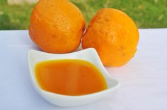 We were invited for dinner by one of our friends and I offered to make the dessert for the evening. I made Vanilla Panna Cotta and wanted to make some sauce to go along with it. Spotting the pile of oranges in my fruit basket, I didn't think twice before deciding on Orange sauce. Orange sauce is a p