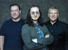 The Canadian progressive rock band Rush.