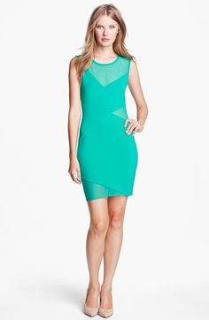 #B44 Dressed by Bailey 44 #Dresses                  #Dressed #Bailey #'Deep #Space' #Mesh #Jersey #Dress                          B44 Dressed by Bailey 44 'Deep Space' Mesh & Jersey Dress                                               http://www.snaproduct.com/product.aspx?PID=5167520
