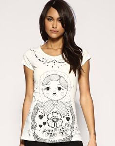 ASOS Russian Doll T-Shirt (out of stock!!)