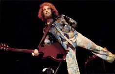 Martin Barre, lead guitarist for Jethro Tull, in the band's early years. (Photo courtesy of Martin Barre)