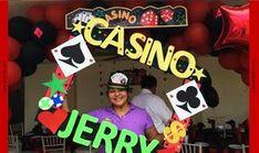 Decoración Fiesta Temática Casino - ✩ Globodec ~ Arte y Decoración con Globos ✩
