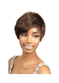 Sweep African American Short Wig