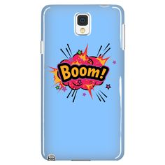 BOOM! Red Cloud Galaxy Note 3 cell phone case (Sky Blue)