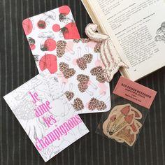 キノコ愛好家の紙雑貨セット | ハンドメイドマーケット minne