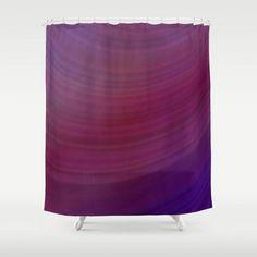 Curves shower curtain