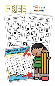 FREE Alphabet Printables and Worksheets for preschool - how to write letters, English Activities For Kids, Quiet Time Activities, Preschool Activities, Alphabet Activities, Summer Activities, Free Games For Kids, Learning Games For Kids, Educational Games For Kids, Free Alphabet Printables