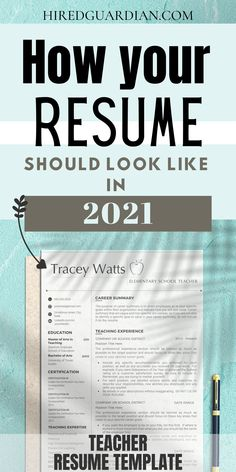 Nowadays Resume Teacher needs to be playful and creative! We will share our teaching resume examples and some resume templates that you might like and will land your next job as a teacher! This for Middle School Teacher Resume, Secondary School Teacher Resume, and Elementary School Resume #Teacherresume #Teachingresume #resumeforteach