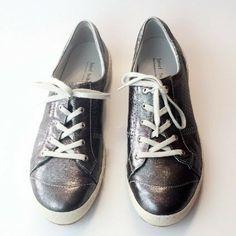 a744c299bbaea Details about JOSEF SEIBEL Comfort Shoes Caspian Leather Denim Blue Fashion  Sneakers 40   9