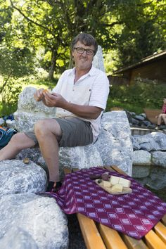 Herbert Edlinger | Guide | Cook | Beekeeper | manufacturer of natural products #kleinwalsertal #visitvorarlberg Picnic Blanket, Outdoor Blanket, Passionate People, Bee Keeping, Natural Products, Cook, Culture, Picnic Quilt, Cooking