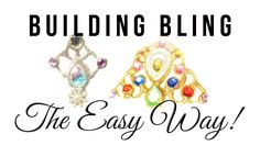 How to make bling and gem clusters!