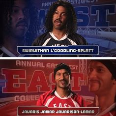 Ridiculous #College #Football Player Names By Key And Peele - #funny