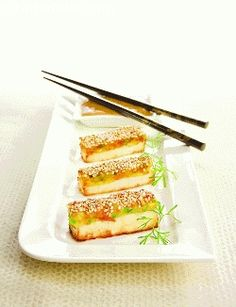 A hors d oeuvre characterised by its savoury crunchiness!