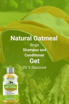 Our Oatmeal Dog Shampoo And Conditioner is recommended by Vets and Specially formulated for pets with allergies to food, grass and flea bites. Can be used for dogs, cats, ferrets and rabbits.. There isNO ALCOHOL, NO SULPHATES, NO ADDED COLORS & NO HARSH CHEMICALS.#homemadeshampoo #shampoo #dogs Homemade Dog Shampoo, Natural Dog Shampoo, Shampoo And Conditioner, Vitamin E, Healthy Hair, Allergies, It Works, Alcohol, Soap