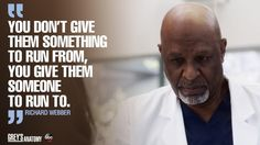 Dr.Webber quote Season 12 Grey's Anatomy