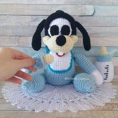 Ο Goofy μόλις έβγαλε το πρώτο του δοντάκι!!! Δεν είναι γλύκας? 💕🍼 Άμεσα διαθέσιμος στο e-shop (link στο bio 👆) #amigurumi…