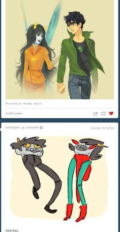 Homestuck shipping gets... intense sometimes.
