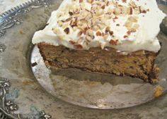 Piece of lovely carrot cake - low carb of course!